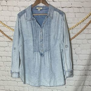 Vintage America Blues Chambray Button Down